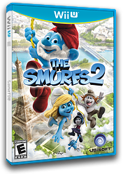 The Smurfs 2 WiiU cover (ASUE41)