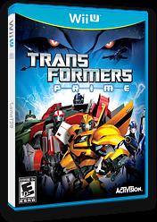Transformers: Prime WiiU cover (ATRE52)