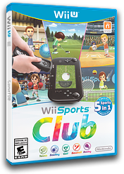 Wii Sports Club WiiU cover (AWSE01)