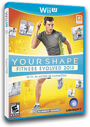 Your Shape: Fitness Evolved 2013 WiiU cover (AYSE41)
