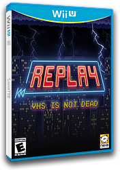 REPLAY:VHS is not dead eShop cover (BREE)