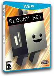 Blocky Bot eShop cover (BYBE)