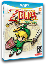 The Legend of Zelda: The Minish Cap VC-GBA cover (PAKE)