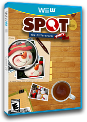 Spot the Differences: Party! eShop cover (WDFE)