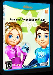 Ava and Avior Save the Earth eShop cover (WEAE)