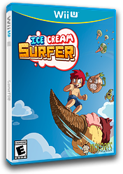 Ice Cream Surfer eShop cover (WSFE)