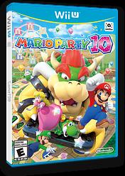 Mario Party 10 WiiU cover (ABAE01)