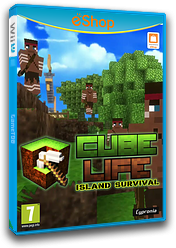 Cube Life Island Survival eShop cover (ACUP)