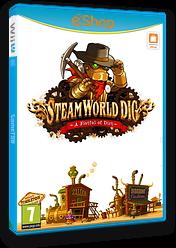 SteamWorld Dig eShop cover (ADGP)