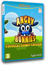 Angry Bunnies: Colossal Carrot Crusade eShop cover (WBEP)