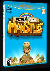 PIXELJUNK MONSTERS eShop cover (BPHE)