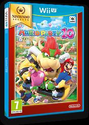 Mario Party 10 WiiU cover (ABAP01)