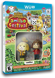Animal Crossing: amiibo Festival WiiU cover (AALE01)