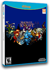 Shovel Knight eShop cover (WKNE)