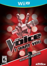 The Voice: I Want You WiiU cover (AVCE52)