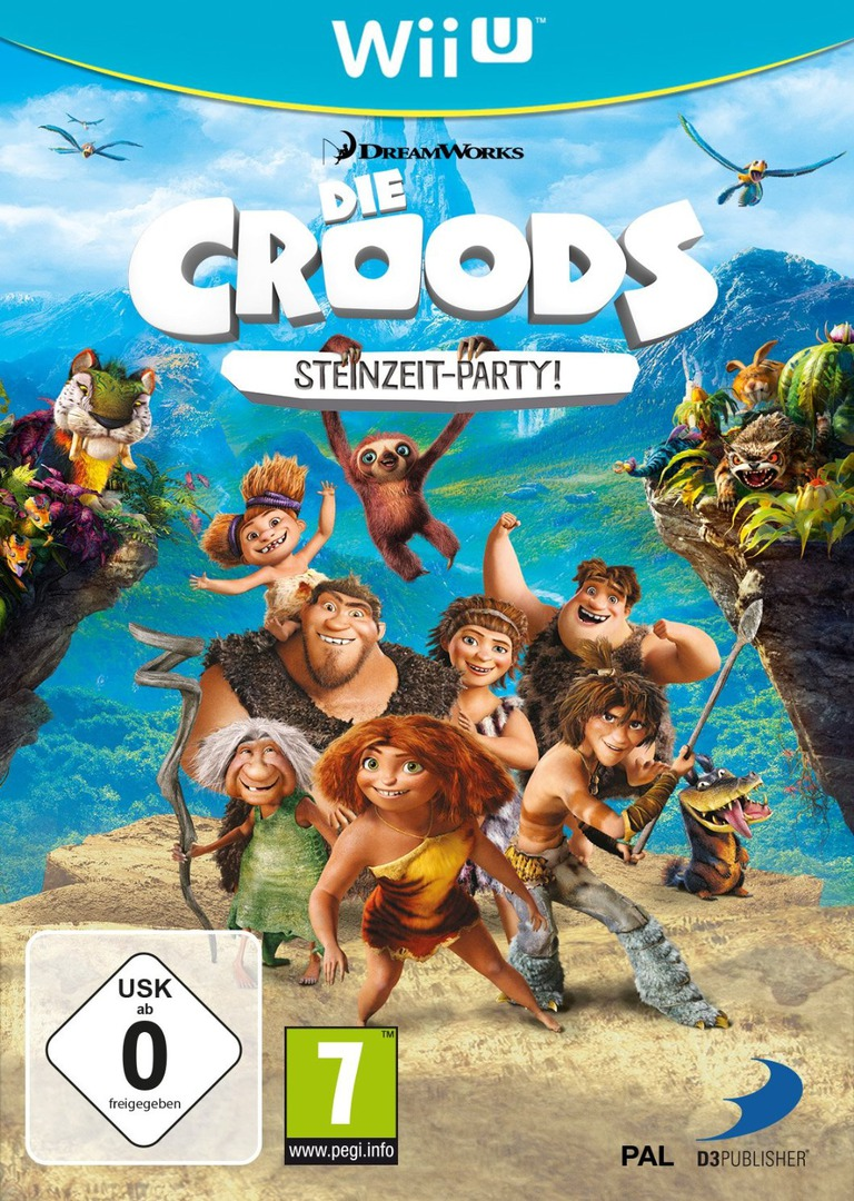 Die Croods: Steinzeit Party! WiiU coverHQ (ACRPAF)