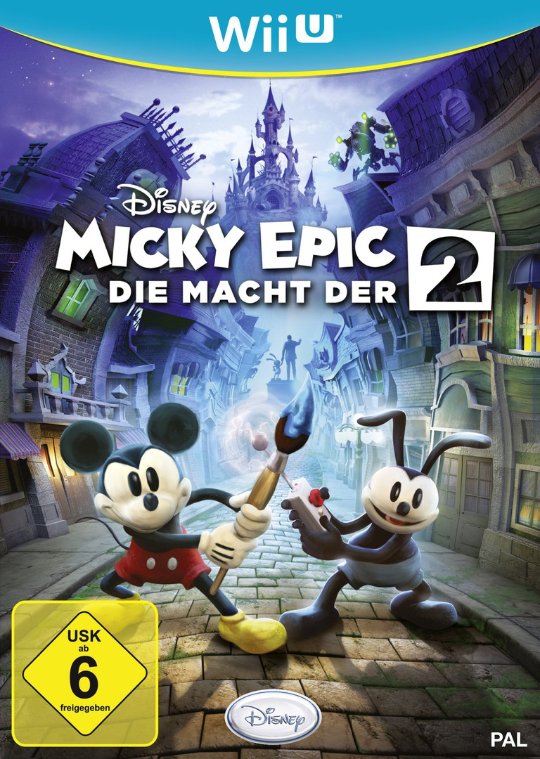 Disney Micky Epic: Die macht der 2 Array coverHQ (AEMP4Q)