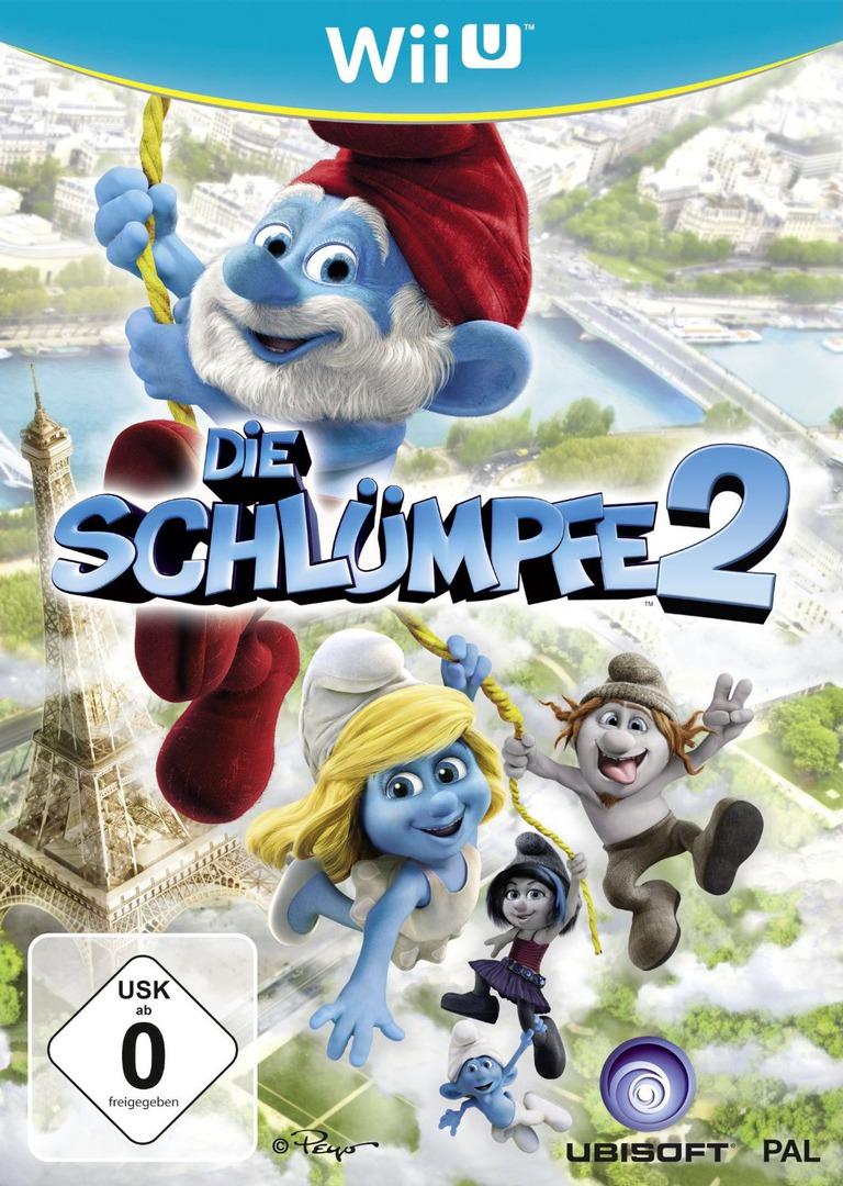 Die Schlümpfe 2 WiiU coverHQ (ASUP41)