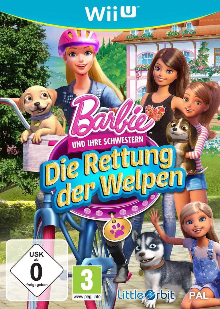 Barbie und ihre Schwestern: Die Rettung der Welpen WiiU coverHQ (BRQPVZ)