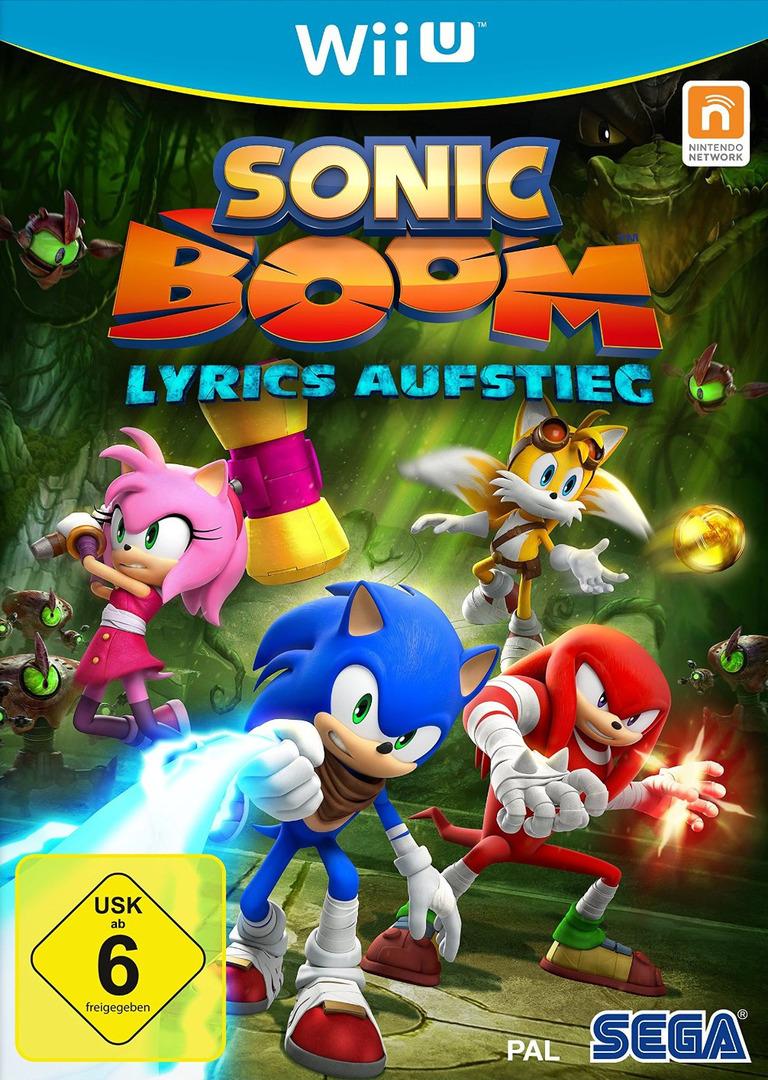 Sonic Boom: Lyrics Aufstieg WiiU coverHQ (BSSP8P)
