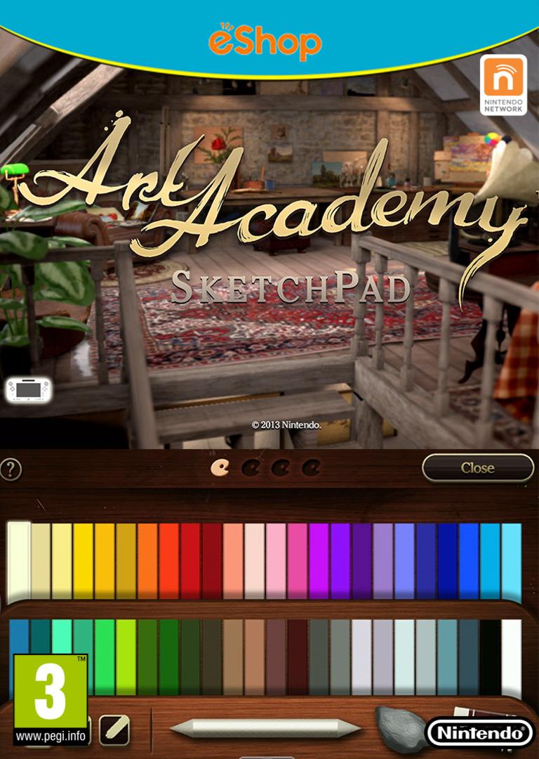 Art Academy: SketchPad WiiU coverHQ (AA9P)