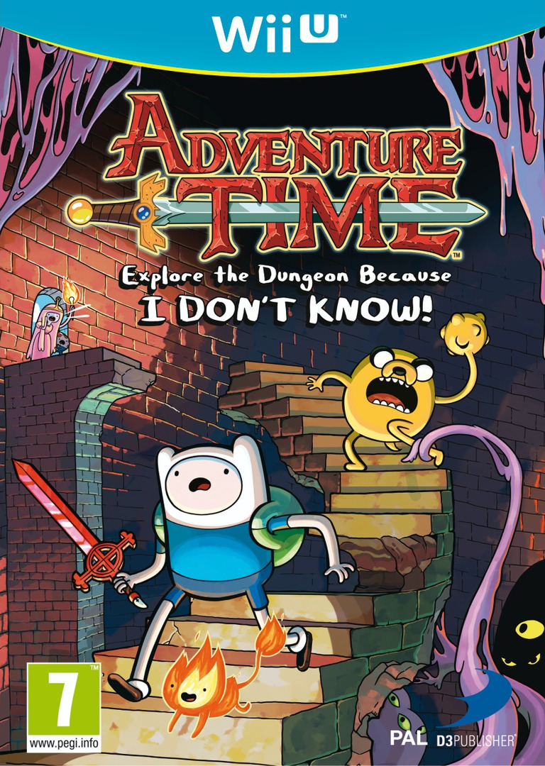 Adventure Time: Explore the Dungeon Because I DON'T KNOW! WiiU coverHQ (ADVPAF)