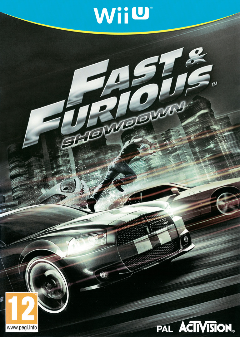 Fast and Furious: Showdown WiiU coverHQ (AF6P52)