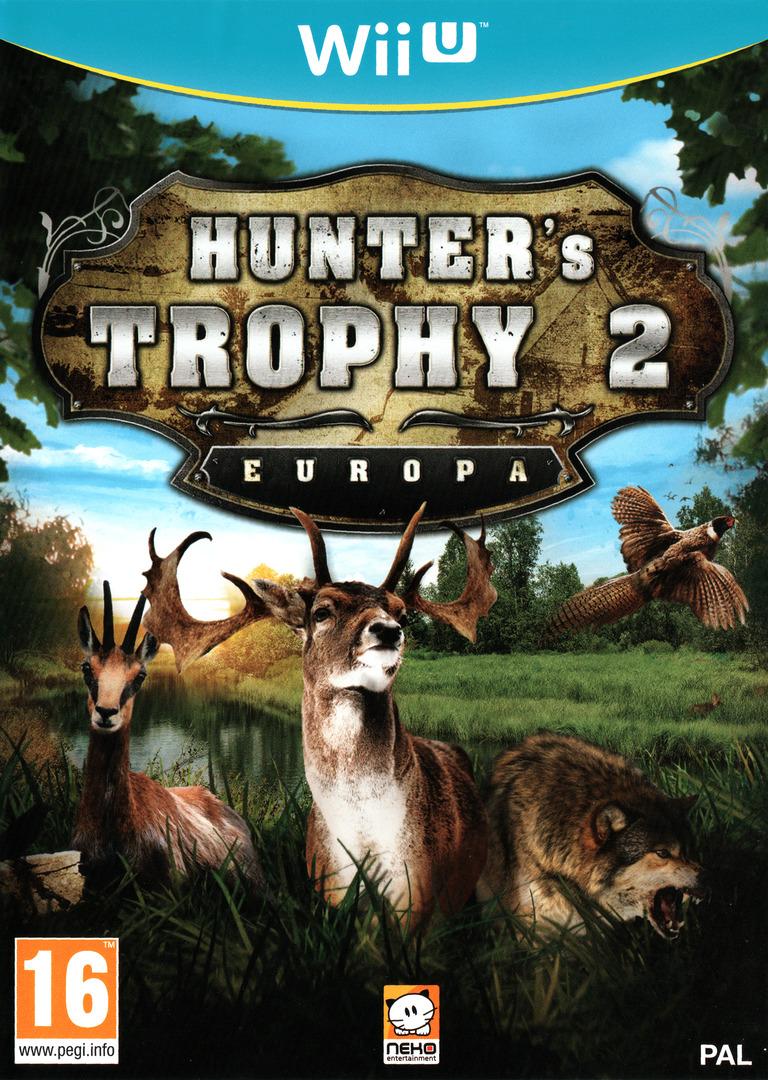 Hunter's Trophy 2 - Europa WiiU coverHQ (AH5PNK)