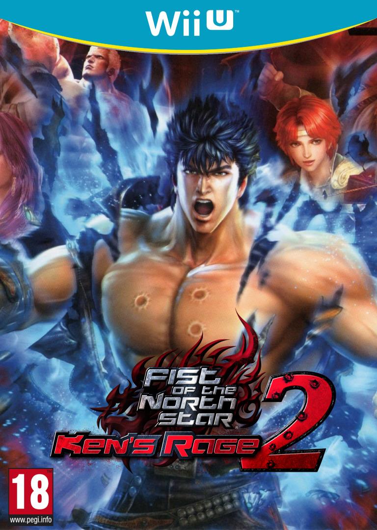 Fist of the North Star: Ken's Rage 2 WiiU coverHQ (AH9P)