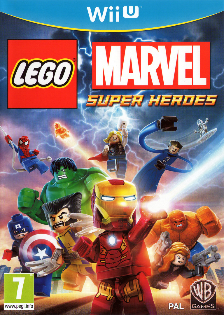 LEGO Marvel Super Heroes Array coverHQ (ALMPWR)