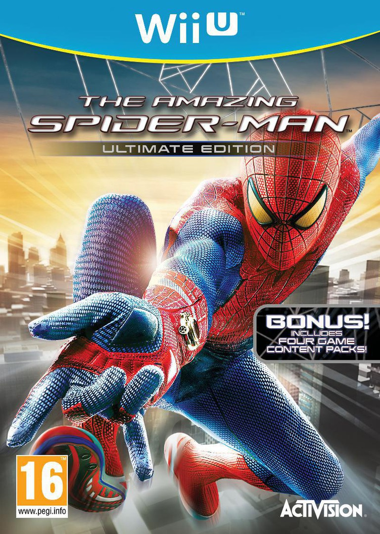 The Amazing Spider-Man Ultimate Edition WiiU coverHQ (AMZP52)