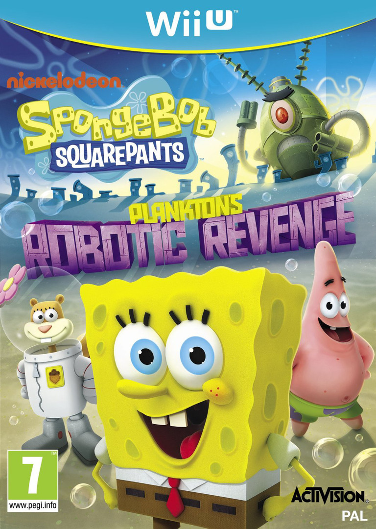 SpongeBob SquarePants: Plankton's Robotic Revenge WiiU coverHQ (AS5P52)