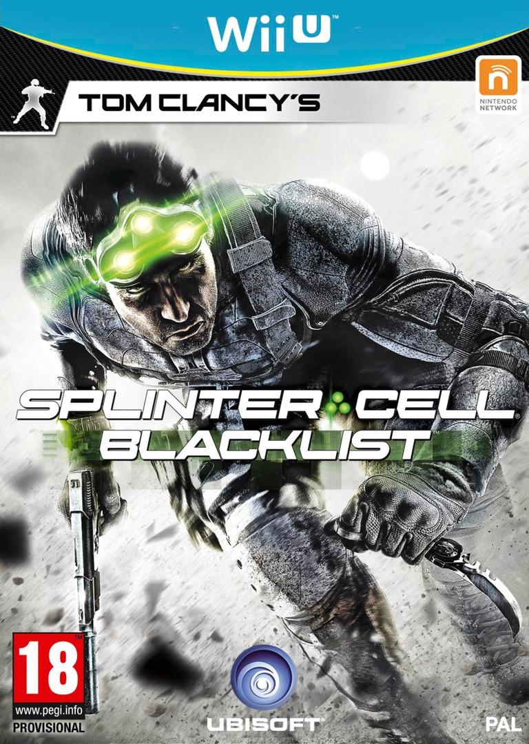 Tom Clancy's Splinter Cell Blacklist WiiU coverHQ (AS9P41)
