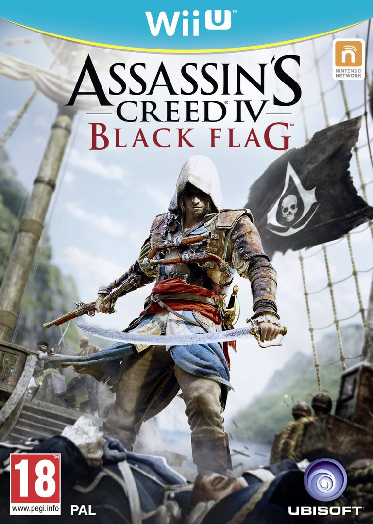 Assassin's Creed IV: Black Flag WiiU coverHQ (ASBP41)