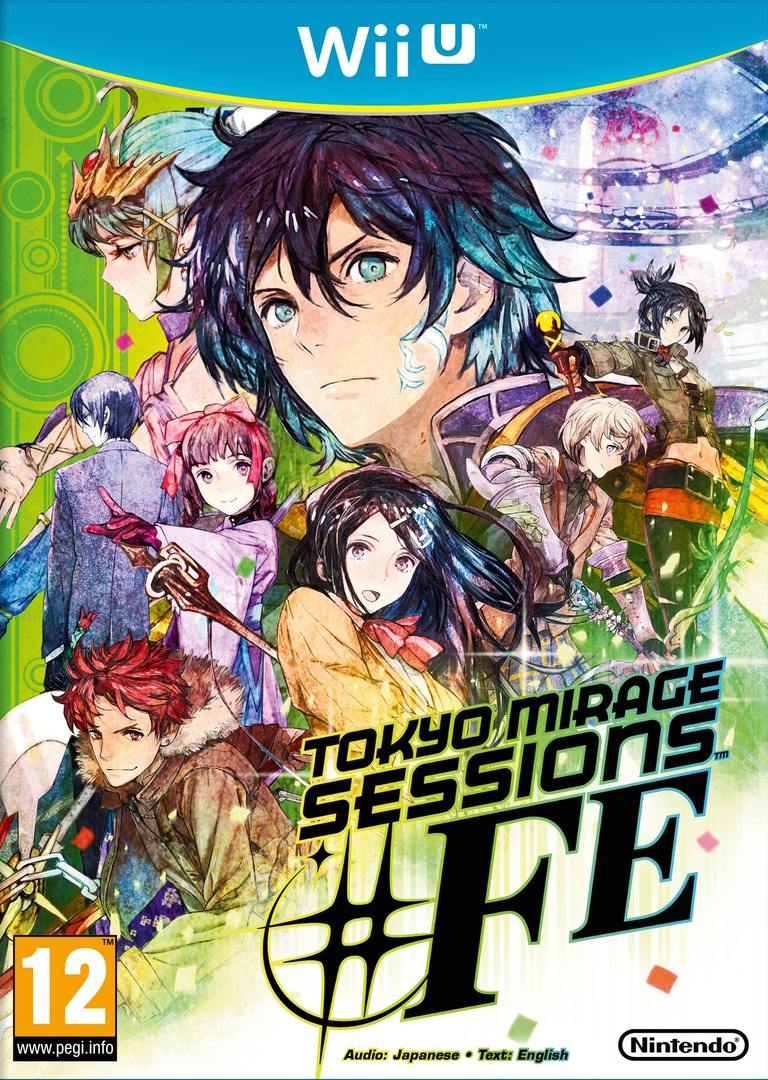 Tokyo Mirage Sessions #FE WiiU coverHQ (ASEP01)