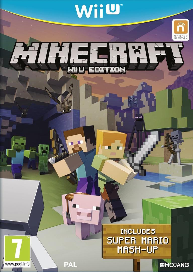 Minecraft: Wii U Edition WiiU coverHQ (AUMPDU)