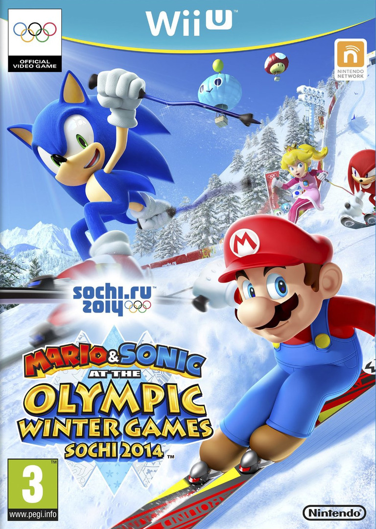 Mario & Sonic at the Sochi 2014 Olympic Winter Games WiiU coverHQ (AURP01)