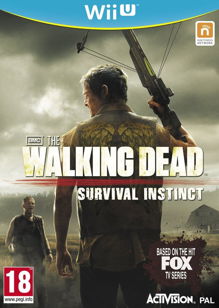 The Walking Dead: Survival Instinct WiiU coverHQ (AWDP52)