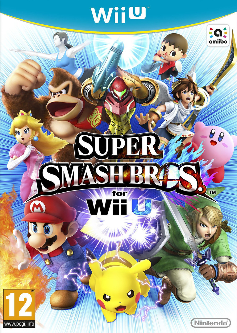 Super Smash Bros. for Wii U Array coverHQ (AXFP01)