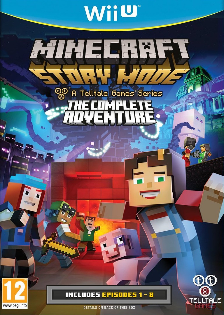 Minecraft: Story Mode - The Complete Adventure WiiU coverHQ (BAKPTL)