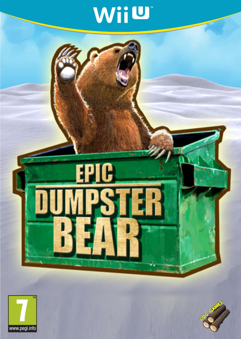Epic Dumpster Bear WiiU coverHQ (BDPP)