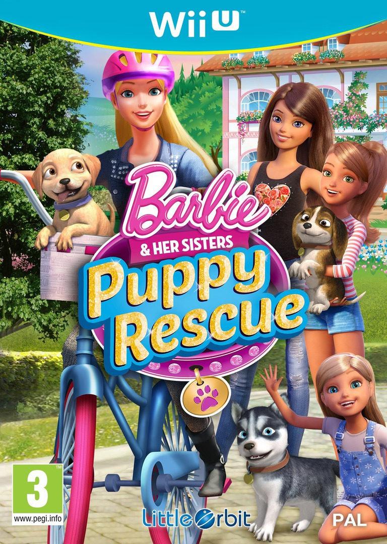 Barbie and Her Sisters: Puppy Rescue WiiU coverHQ (BRQPVZ)