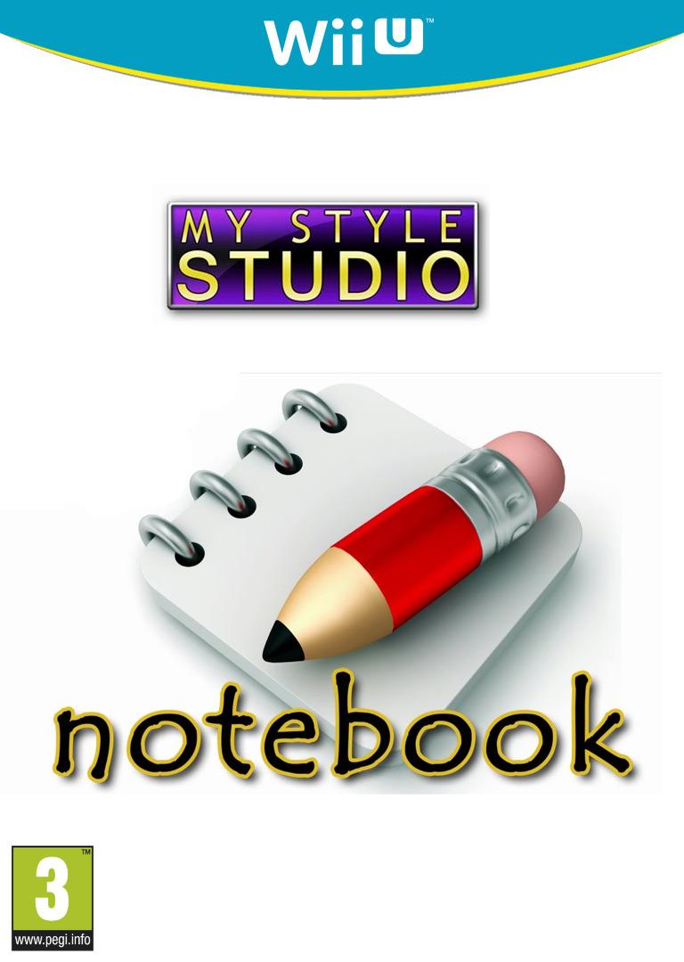 My Style Studio: Notebook WiiU coverHQ (WBKP)