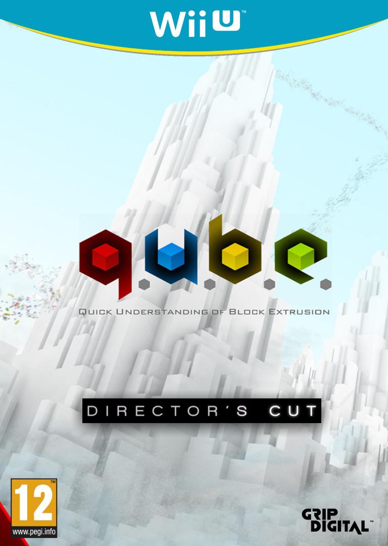 Q.U.B.E: Director's Cut WiiU coverHQ (WDCP)