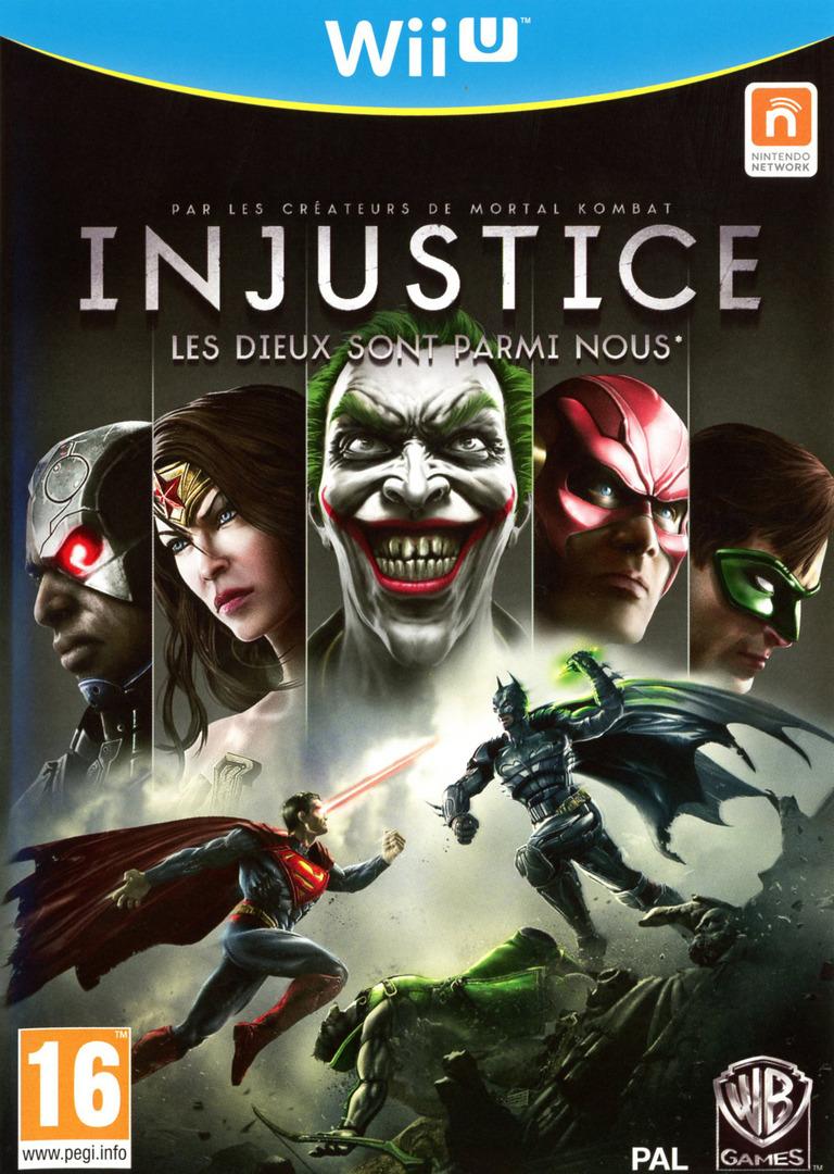 Injustice:Les Dieux Sont Parmi Nous Array coverHQ (AJSPWR)
