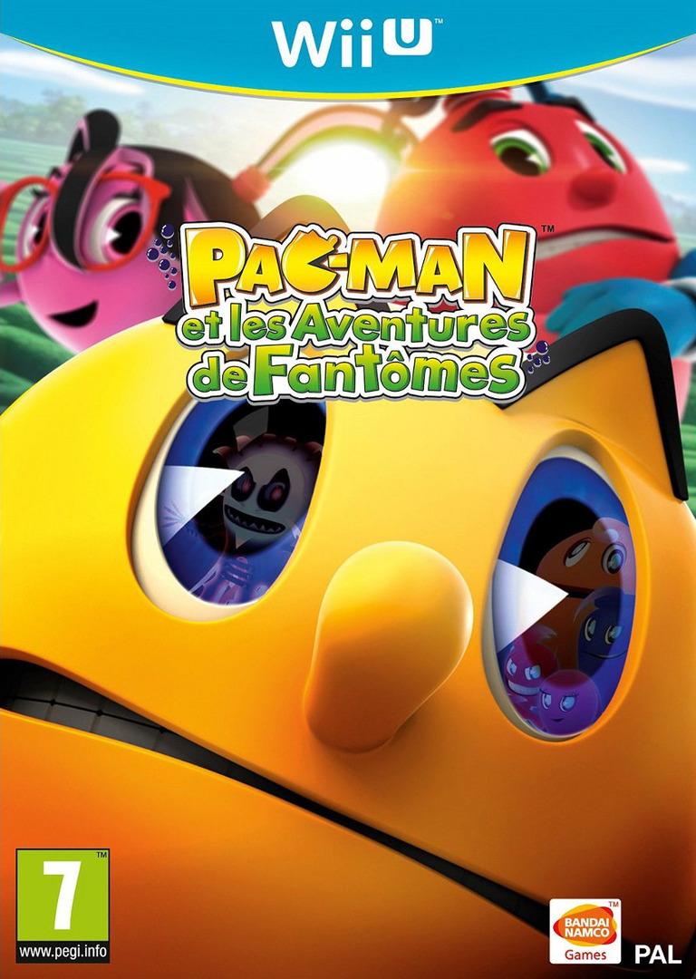 Pac-Man et les Aventures de Fantômes WiiU coverHQ (APCPAF)