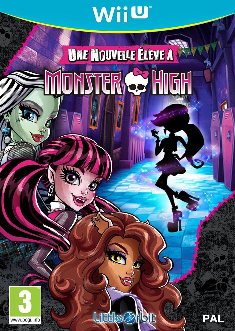 Monster High:une nouvelle élève à Monster High WiiU coverHQ (BMSPVZ)
