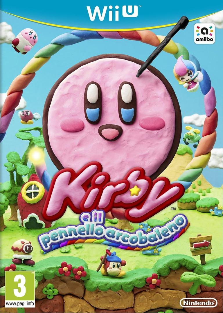 Kirby e il Pennello Arcobaleno WiiU coverHQ (AXYP01)