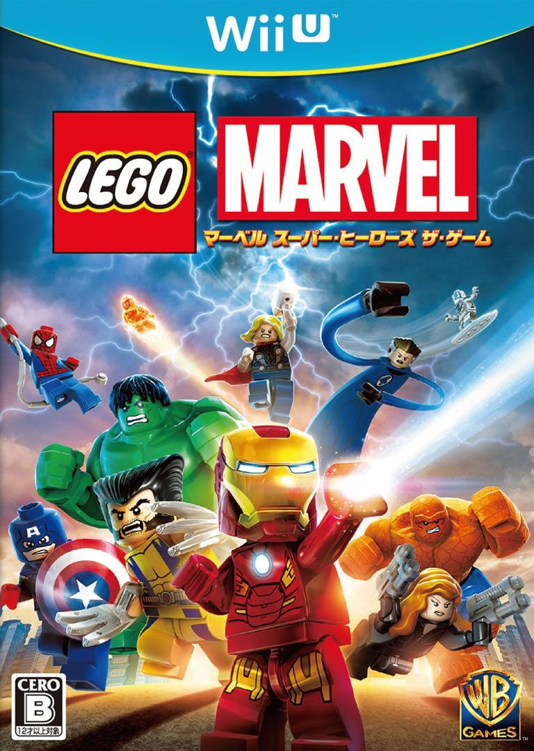 LEGOレゴ マーベル スーパーヒーローズ ザ・ゲーム WiiU coverHQ (ALMJWR)