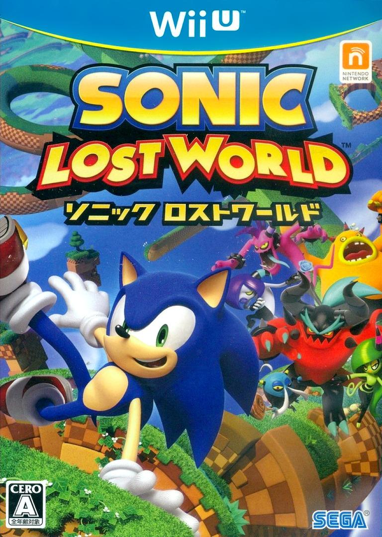 (ソニック ロストワールド WiiU coverHQ (ASNJ8P)
